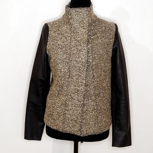 GENERATION LOVE Gold & Black Tweed Jacket S